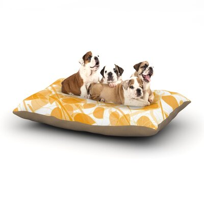 Anchobee Summer Dog Pillow with Fleece Cozy Top Size: Small (40 W x 30 D x 8 H)
