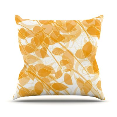 Summer by Anchobee Throw Pillow Size: 16 H x 16 W x 1 D