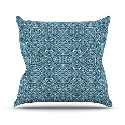Ocean by Allison Soupcoff Throw Pillow Size: 18 H x 18 W x 1 D