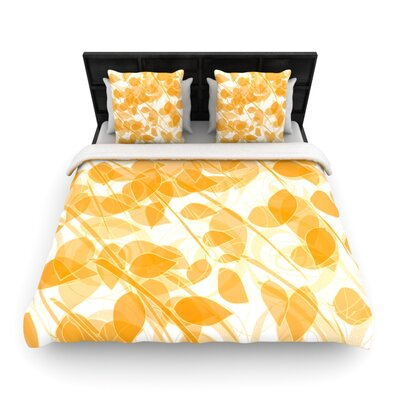 Summer Woven Comforter Duvet Cover Size: King