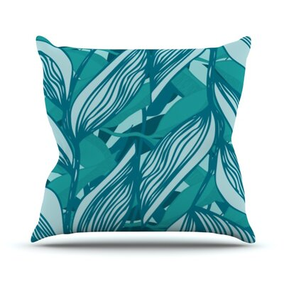 Algae by Anchobee Throw Pillow Size: 20 H x 20 W x 1 D