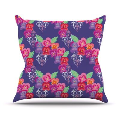 Beautifully Boho by Anneline Sophia Throw Pillow Size: 26 H x 26 W x 1 D