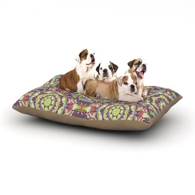 Allison Soupcoff Plum Lace Dog Pillow with Fleece Cozy Top Size: Small (40 W x 30 D x 8 H)