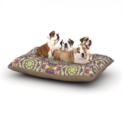 Allison Soupcoff Plum Lace Dog Pillow with Fleece Cozy Top Size: Large (50 W x 40 D x 8 H)