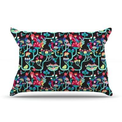 Agnes Schugardt Antique Folk Rainbow Pillow Case