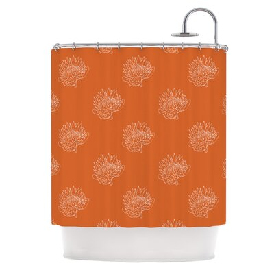 Anneline Sophia Simpley Protea Shower Curtain