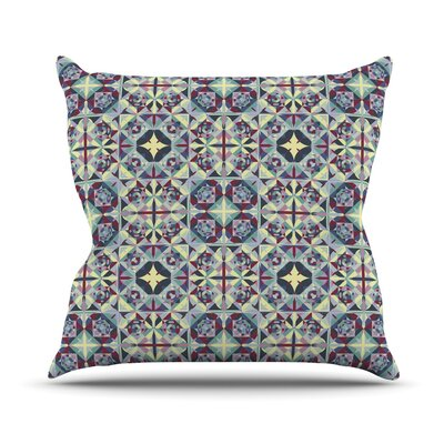Curiousity by Allison Soupcoff Throw Pillow Size: 26 H x 26 W x 1 D