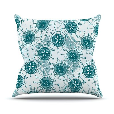 Satellite by Anchobee Throw Pillow Size: 16 H x 16 W x 1 D
