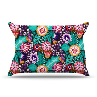 Agnes Schugardt Folk Meadow Pillow Case