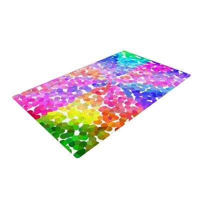 Beth Engel Searching Pink/Blue/Green Area Rug