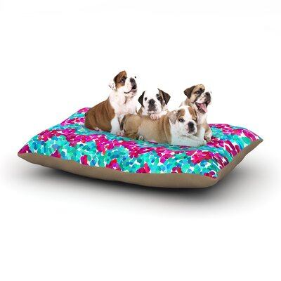 Beth Engel Scattered Dog Pillow with Fleece Cozy Top Size: Small (40 W x 30 D x 8 H)
