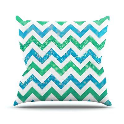 By The Sea by Beth Engel Throw Pillow Size: 18 H x 18 W x 1 D