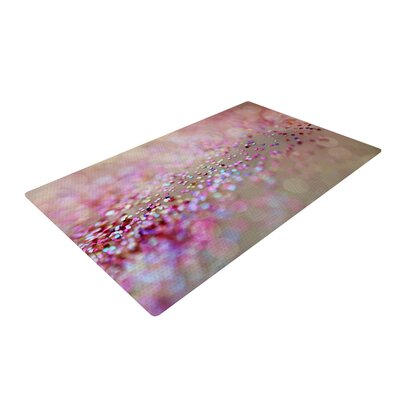 Beth Engel Princess Confetti Pink/Brown Area Rug Rug Size: 2 x 3