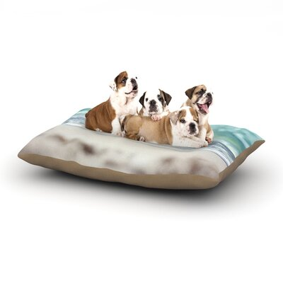 Beth Engel Serenity Dog Pillow with Fleece Cozy Top Size: Small (40 W x 30 D x 8 H)