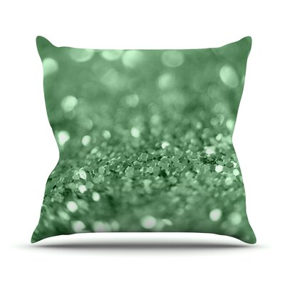 Lucky Shamrock by Beth Engel Throw Pillow Size: 18 H x 18 W x 1 D