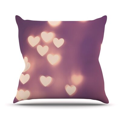 Your Love is Electrifying Outdoor Throw Pillow Size: 16 H x 16 W x 3 D