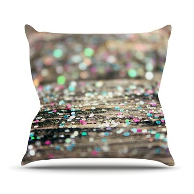 After Party by Beth Engel Throw Pillow Size: 16 H x 16 W x 1 D