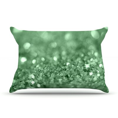 Beth Engel Lucky Shamrock Pillow Case Color: Green