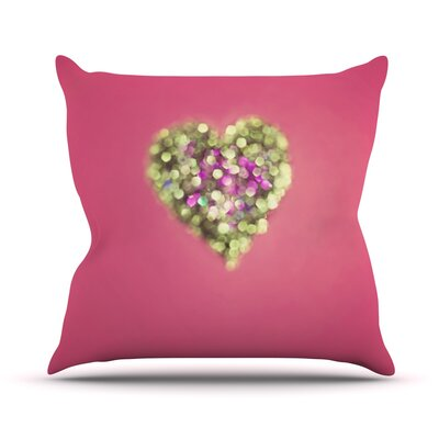 Make Your Love Sparkle by Beth Engel Throw Pillow Size: 26 H x 26 W x 1 D