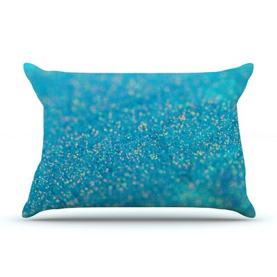 Beth Engel Mermaid Sparkles Pillow Case Color: Blue