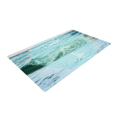 Beth Engel Crash Into Me Blue Area Rug Rug Size: 4 x 6