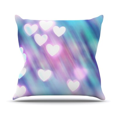 Your Love is Sweet Like Candy by Beth Engel Heart Throw Pillow Size: 16 H x 16 W x 1 D