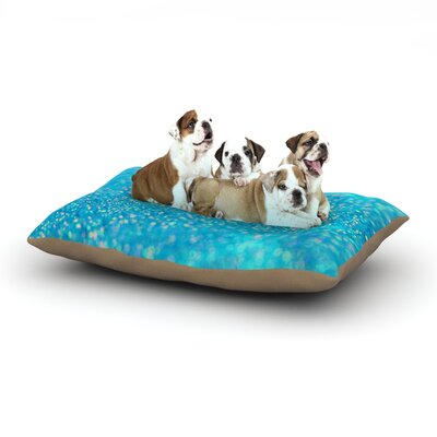 Beth Engel Mermaid Sparkles Dog Pillow with Fleece Cozy Top Size: Large (50 W x 40 D x 8 H)