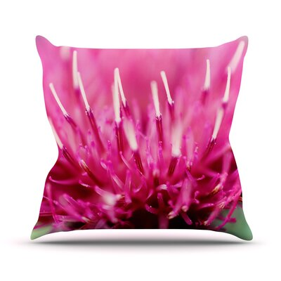 Frosted Tips by Beth Engel Throw Pillow Size: 16 H x 16 W x 1 D