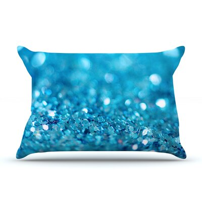 Beth Engel Lucky Shamrock Pillow Case Color: Aqua