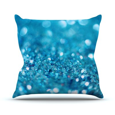 Swimming by Beth Engel Throw Pillow Size: 18 H x 18 W x 1 D