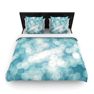 Snow Princess Woven Comforter Duvet Cover Size: King