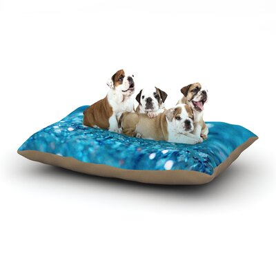 Beth Engel Swimming Dog Pillow with Fleece Cozy Top Size: Small (40 W x 30 D x 8 H)