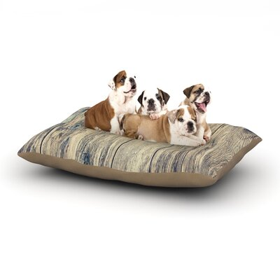 Beth Engel Wood Photography II Dog Pillow with Fleece Cozy Top Size: Small (40 W x 30 D x 8 H)