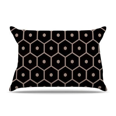 Tiled Mono by Budi Kwan Featherweight Pillow Sham Size: Queen, Fabric: Woven Polyester