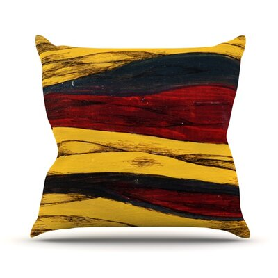 Sheets Outdoor Throw Pillow Size: 16 H x 16 W x 3 D