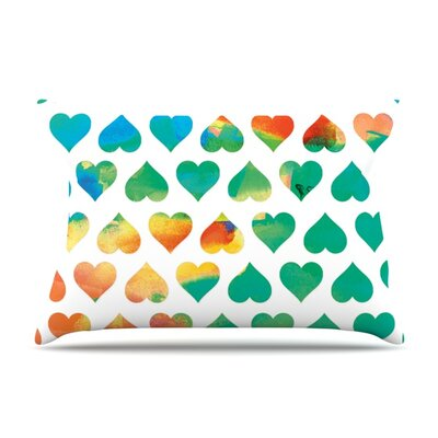 Be Mine by Budi Kwan Featherweight Pillow Sham Size: King, Fabric: Woven Polyester