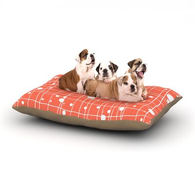 Budi Kwan Woven Web Dog Pillow with Fleece Cozy Top Size: Small (40 W x 30 D x 8 H)