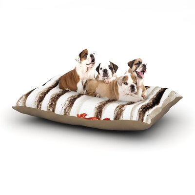 Budi Kwan Run and Roam Dog Pillow with Fleece Cozy Top Size: Small (40 W x 30 D x 8 H)