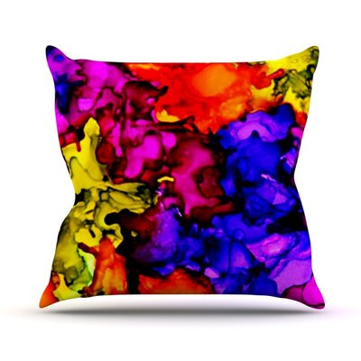 Chica Outdoor Throw Pillow Size: 26 H x 26 W x 4 D