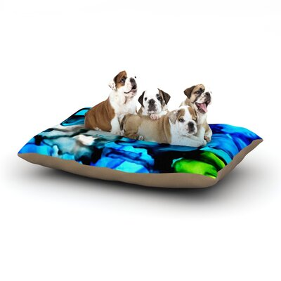 Claire Day Chesapeake Bay Dog Pillow with Fleece Cozy Top Size: Small (40 W x 30 D x 8 H)