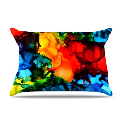 Family Photos III by Claire Day Featherweight Pillow Sham Size: King, Fabric: Woven Polyester