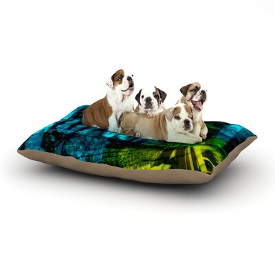 Claire Day Radford Dog Pillow with Fleece Cozy Top Size: Small (40 W x 30 D x 8 H)