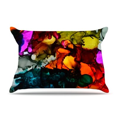 Hippie Love Child by Claire Day Featherweight Pillow Sham Size: King, Fabric: Woven Polyester