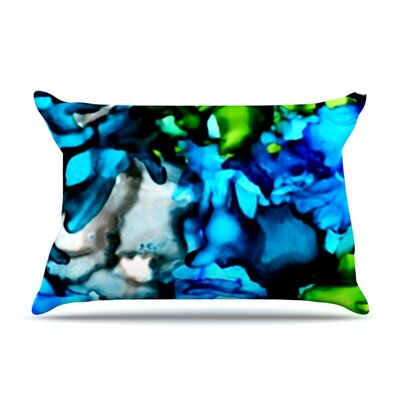 Chesapeake Bay by Claire Day Featherweight Pillow Sham Size: King, Fabric: Woven Polyester