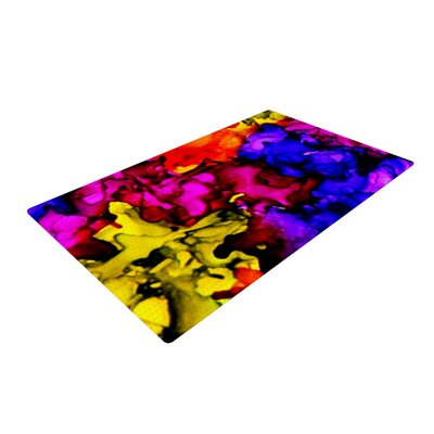 Claire Day Chica Pink/Yellow Area Rug