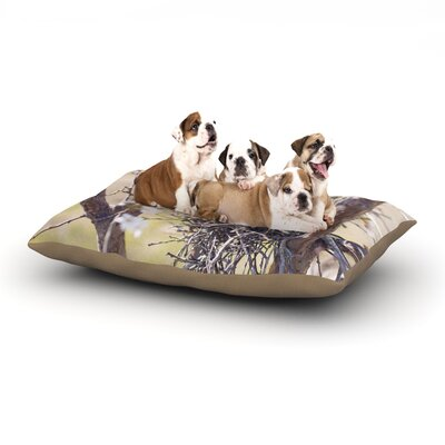 Catherine McDonald Nest Dog Pillow with Fleece Cozy Top Size: Large (50 W x 40 D x 8 H)