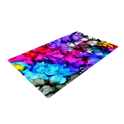 Claire Day Indie Chic Blue/Pink Area Rug