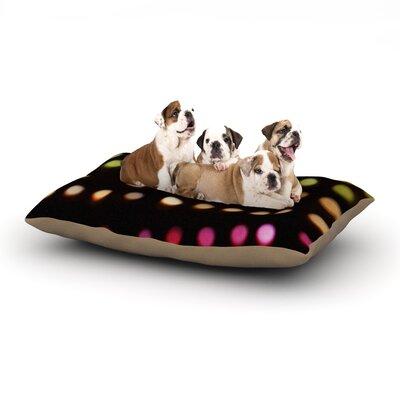 Catherine McDonald City Lights Dog Pillow with Fleece Cozy Top Size: Large (50 W x 40 D x 8 H)