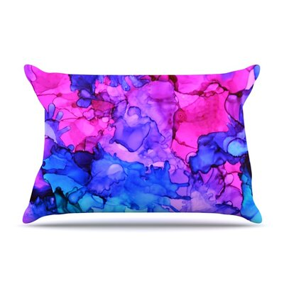 Audrey by Claire Day Featherweight Pillow Sham Size: King, Fabric: Woven Polyester