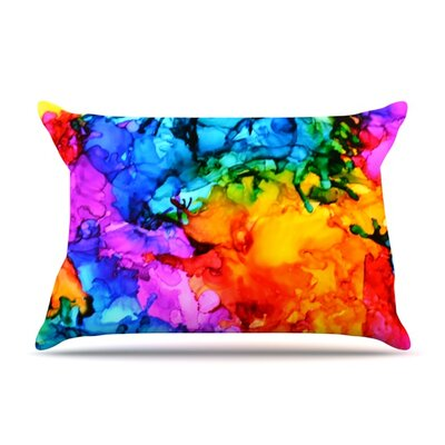 Sweet Sour II by Claire Day Featherweight Pillow Sham Size: Queen, Fabric: Woven Polyester